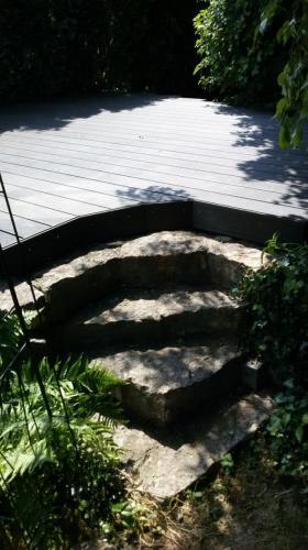 BPC Terrasse und Zugangs Stufen