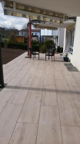 Feinsteinzeug Terrasse 2